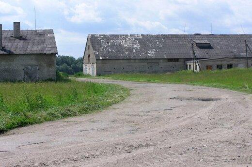 Sovietinė fermos - taršos skleidėjos