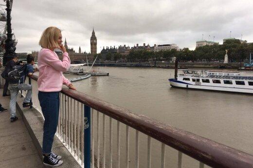 Monika Linkytė Londone