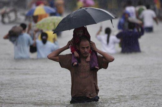 Filipiny: Manila znika pod wodą
