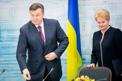 Wizyta Janukowicza w Wilnie