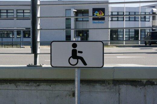 Sondaż: Niepełnosprawni na Litwie mają gorzej