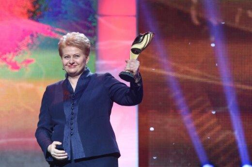 Prezydent Dalia Grybauskaitė w Kijowie. Źródło: lrp.lt