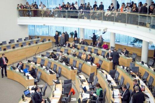 Mieszkańcy Litwy chcą zmniejszyć liczbę posłów