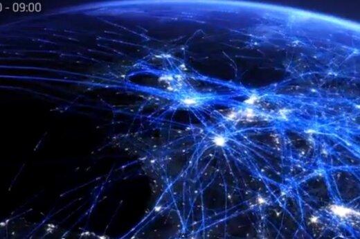 Ruch lotniczy na świecie