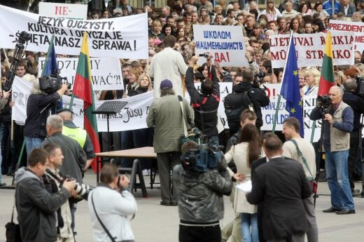 Kolejny protest polskich szkół