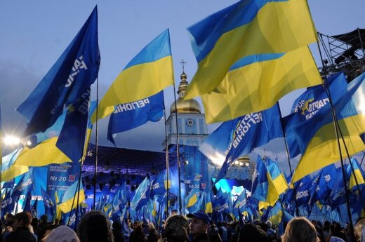 Laufer: Uderzająca jest świadomość Ukraińców, którzy mówią, że Ukrainy jako państwa jeszcze nie ma