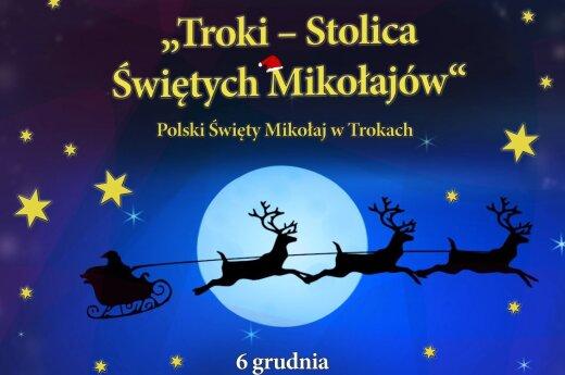 Polski św. Mikołaj w Trokach