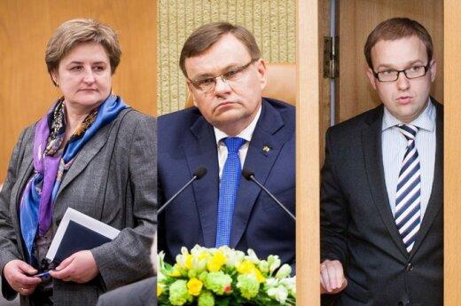 Loreta Graužinienė, Vydas Gedvilas, Vytautas Gapšys