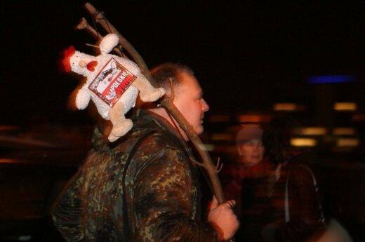 Patriotyczna młodzież świętowała odzyskanie Wilna z rąk Polski