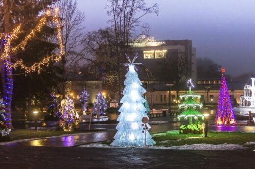 Druskininkuose suspindės 36 Kalėdų eglutės