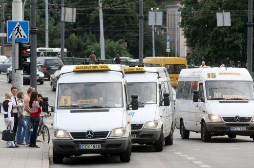 """Stołeczny samorząd chce zabronić """"marszrutkom"""" wjazd do centrum Wilna"""