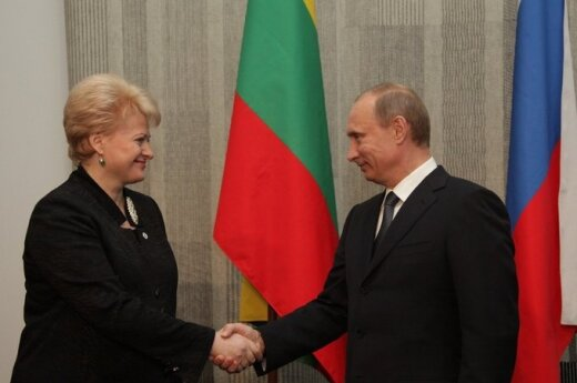 Grybauskaitė: Relacje z Rosją nie muszą opierać się na ciągłych ustępstwach