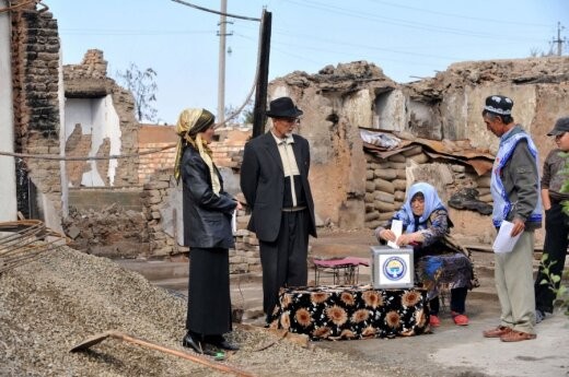 Kirgistan: Biszkek, gdzieś na kresach