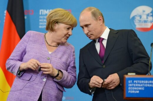 Putin rozmawiał z Merkel