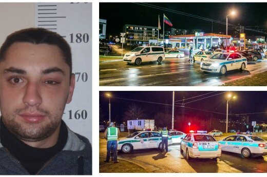 GTA: Wilno. Mężczyzna odebrał Kałasznikowa policji i przejechał przez całe Wilno