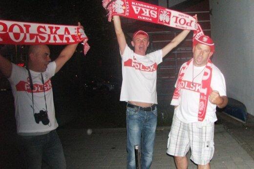Polska - Czechy, Strefa kibica DKP, fot. Ryszard Rotkiewicz