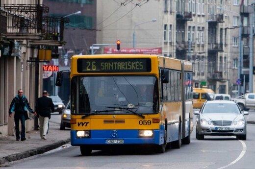 Zmiana tras autobusów na Kaziuka