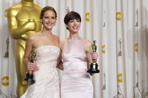 Jennifer Lawrence, Anne Hathaway