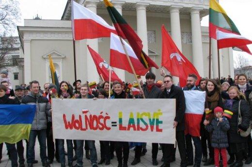 Polacy na Marszu Niepodległości