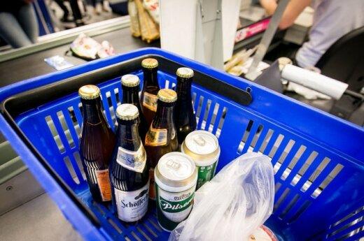 Alkohol w kioskach z prasą