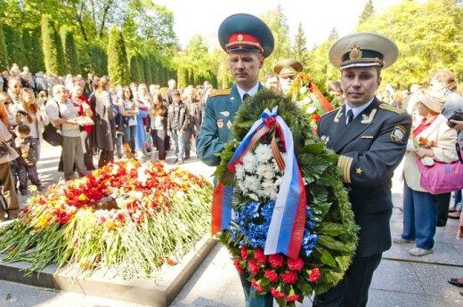Weterani armii radzieckiej uczcili 9 maja