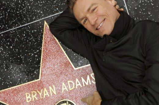 Bryan Adams znów tatą