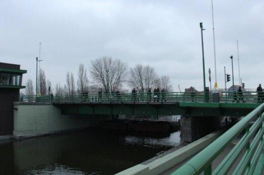 Klaipėdoje - Pilies tilto rekonstrukcijos pabaiga