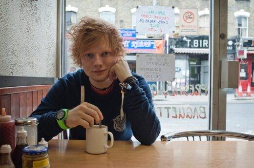 Ed Sheeran fot. Dan Curwin