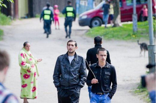 Na integrację Romów 5 milionów litów