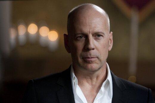 Bruce Willis szaleje w Moskwie