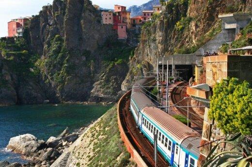 Italija.  Cinque Terre.