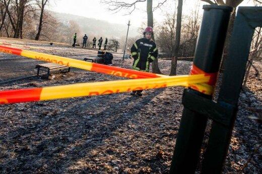 W Wilnie podpalił się mężczyzna