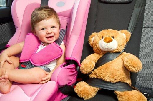 Kuo užimti vaiką kelionės metu