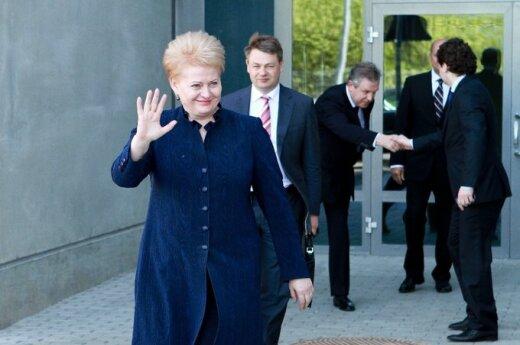 Grybauskaitė: Niemcy są ważnym partnerem dla Litwy