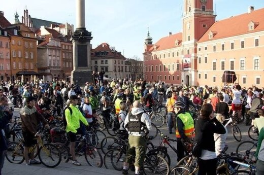 Warszawa  - europejską stolicą  rowerową