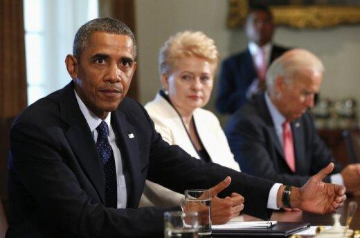 """Grybauskaitė spotkała się z Obamą. """"To są nasi przyjaciele"""""""