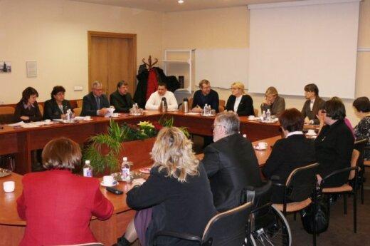 Susitikimas su A.Pabedinskiene