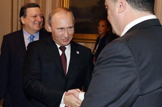 Pieskow: Putin nie groził Poroszence w rozmowie telefonicznej