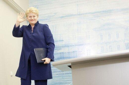Grybauskaitė: Litwa jest zainteresowana we wznowieniu dialogu między Unią a Białorusią