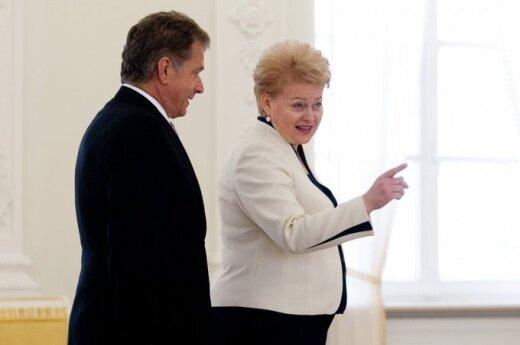 Grybauskaitė: Współpraca z Europą Północną jest naszym priorytetem
