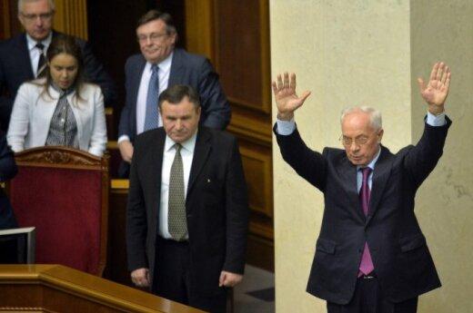 Premier Ukrainy podał się do dymisji