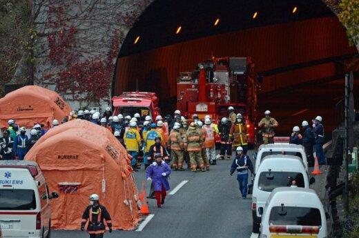 Japonia: Zawalił się tunel. Są ofiary śmiertelne