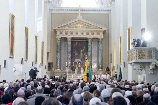 Porządek nabożeństw po polsku w Niedzielę Wielkanocną w Wilnie
