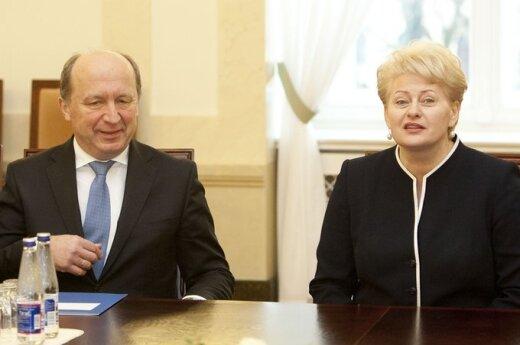 Andrius Kubilius, Dalia Grybauskaitė