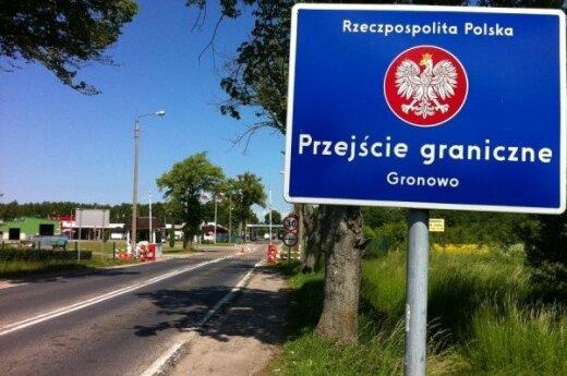 Gronowo, przejście graniczne