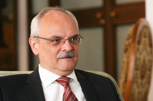 Ambasador RP w Wilnie Jarosław Czubiński spotkał się z merem Wilna Remigiusem Šimašiusem