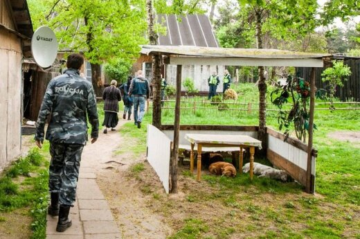 Policja przeprowadziła akcję antynarkotykową w wileńskim taborze