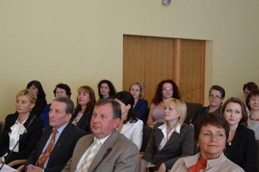 Konferencja placówek oświatowych w rejonie wileńskim, fot. samorząd rejonu wileńskiego