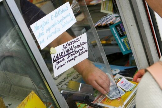 """W kioskach brakuje """"kart wilnianina"""""""