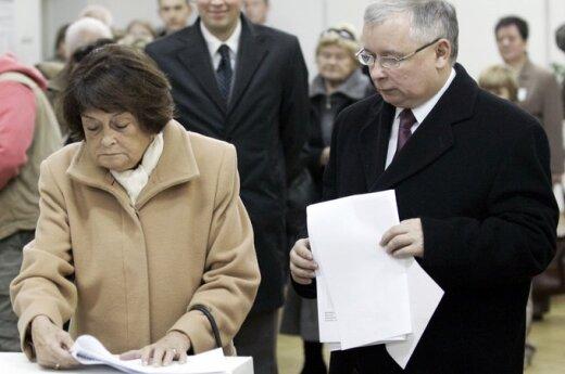 Litewscy politycy składają kondolencje Kaczyńskiemu z powodu śmierci matki